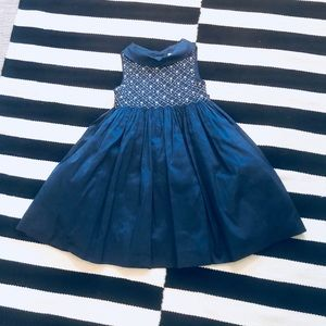 Girl's Silk Holiday Dress - 4T